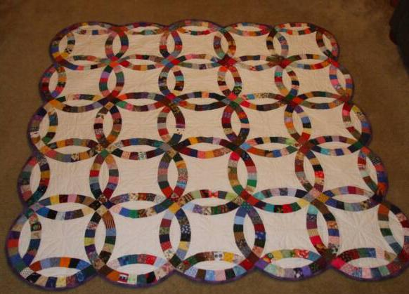 hand made quilts for sale - Wedding Ring Quilts For Sale